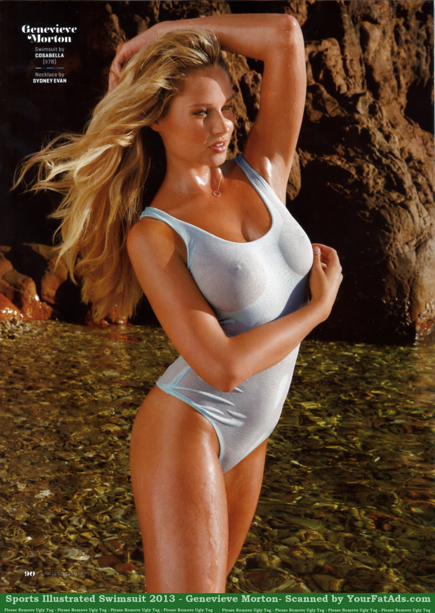 Sports Illustrated Swimsuit Genevieve Morton Sports Illustrated